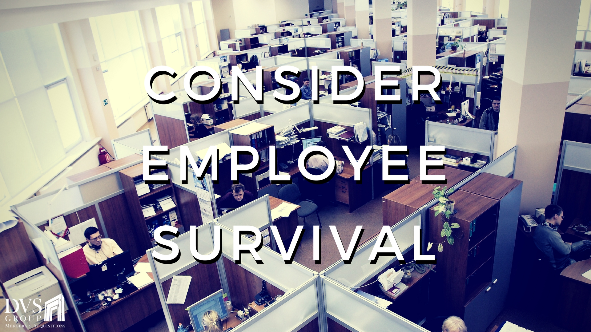 3. Consider Employee Survival