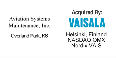 Aviation Systems Maintenance - VAISALA