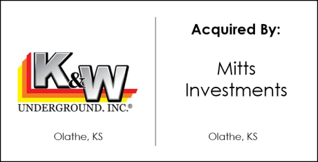 K&W Underground Acquired By Mitts Investments